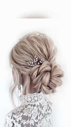 Bridal Hair Updo, Wedding Hairstyles For Long Hair, Wedding Hair And Makeup, Hair Makeup, Bridesmaid Hairstyles, Long Bridal Hair, Wedding Updo With Braid, Romantic Wedding Hairstyles, Hair Down Hairstyles