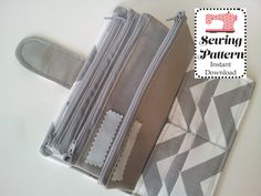 Wallet SEWING PATTERN PDF, Cash Envelope Wallet , Cash Budget System, Bifold Wallet, Woman Wallet