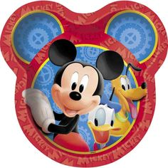 Throw an extra special Mickey Mouse birthday party! Each package contains eight 9 inch paper party plates.
