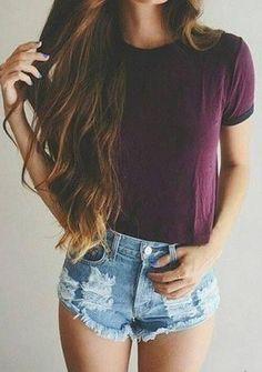 Summer Fashion Streetwear Style ★ #Casual Street Style Fashion Outfits Summer #StreetStyle #CasualStyle Women's