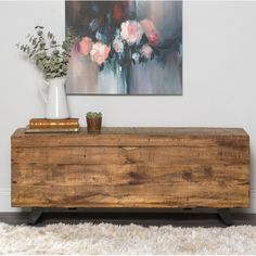Store your items in style with our Rustic Wooden Axel Storage Bench. The wooden finish gives it a rustic look and the metal legs give it a dash of modern flair. Storage Trunk, Wood Storage, Storage Spaces, Storage Chest, Wooden Bench With Storage, Deco Boheme, Wooden Tops, Coffee Table With Storage, Natural Brown