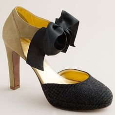 cute heels to dress up (either simple black heels or black pants with cute colored top)