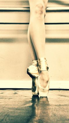 Pointe. I can't wait to start pointe!!!