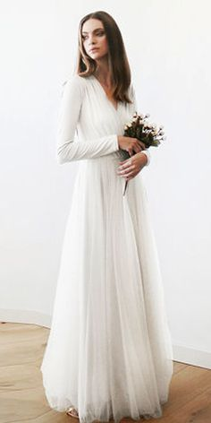 Wedding Dresses, wedding gown article stamp 8882623625 Majestic styles to organize and find a really elegant gown. Sweet simple elegant wedding dress pinned on this fun date 20181230 , Wedding Dress Tea Length, Long Sleeve Wedding, Wedding Dress Sleeves, Simple Wedding Dress With Sleeves, Simple Gowns, Stunning Wedding Dresses, Modest Wedding Dresses, Cheap Wedding Dress, Bridesmaid Dresses