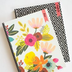 How to decorate notebooks and make customized labels- the easy way!