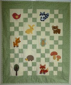 Walk in the Woods Woodland Theme PDF patchwork by MakeItYoursOz