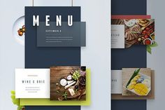 Menu and Presentation UI by Atom-Store on @creativemarket