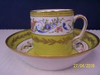 Raynaud Limoges Sevres LES MERVEILLEUSES Cup and Saucer  # 2