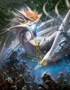 Dragon de batalla legend of the cryptids