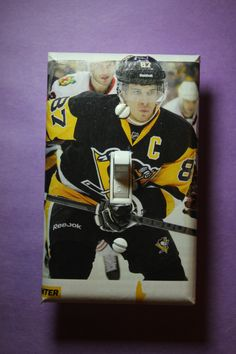 Sydney Crosby Pittsburgh Penguins NHL Hockey Light Switch Cover Plate  Mancave Boys Child Room Home Decor Bedroom 87 By ComicRecycled On Etsy