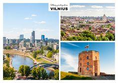 Herzliche Grüsse aus Vilnius | Urlaubsgrüße | Echte Postkarten online versenden…