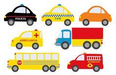 GUIAFORKIDS.COM | Entretenimiento y educación para los niños . Auto Party, Race Car Party, Train Party, Transportation Birthday, Second Birthday Ideas, Car Themes, Cute Cars, Baby Party, Drawing For Kids