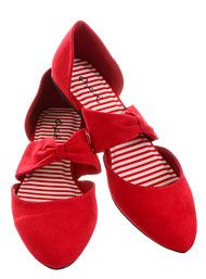 Sunny Day Stroll Flats in Cherry