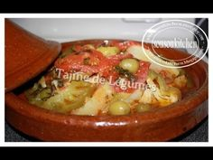 Tajine de légumes طجين الخضرا/Tagine with Vegetables - YouTube