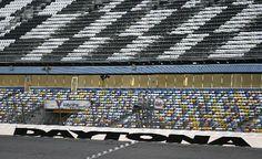Daytona Raceway - walked the track