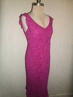 Purple and pink / magenta dress