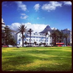 What a great setting for a hotel, with a sea view too! A Sea, Cape Town, Winchester, South Africa, Dolores Park, African, Tours, Explore, Mansions