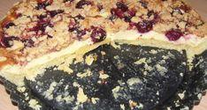 Meggyes túrótorta sütve - Süss Velem Receptek Food, Essen, Meals, Yemek, Eten