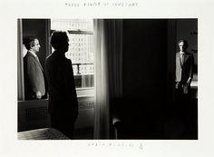 Three Views of Truffaut by Duane Michals, 1981