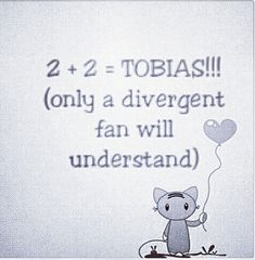 You cannot be following my divergent board and not understand this. I'm sorry it just cannot happen.