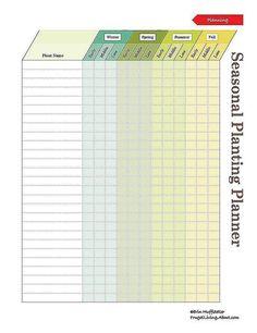 print this free garden planner