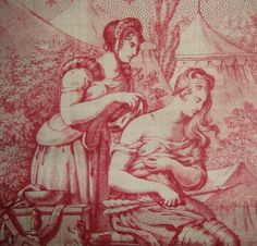 Joan of Arc toile - detail