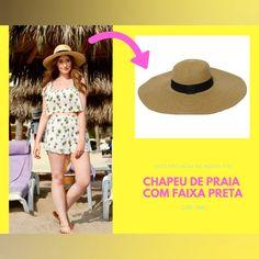 Nosso look inspiração super feminino com sugestão do nosso chapeu top e  elegante para deixar seus dias de sol ainda mais cheio de confortáveis e  lindos! b96cead7a0e