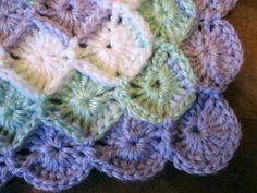 Bavarian Crochet Baby Blanket - CROCHET