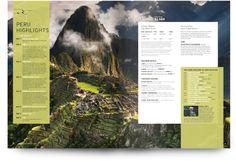 Globus Magazine by Jeff Stein, via Behance