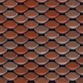 Fish Scale Roof Pattern Stock Photos - Image: 12240743