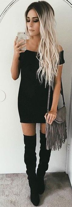 #summer #girly #outfits | Litle Black Dress