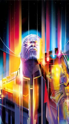 Avengers: Infinity War by Orlando Arocena - Home of the Alternative Movie Poster -AMP- Thanos Marvel, Marvel Comics, Heros Comics, Marvel Heroes, Marvel Universe, Wanda Marvel, The Avengers, Marvel Wallpaper, Alternative Movie Posters