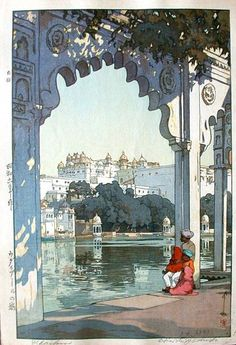 The palace of Udaipur (India, 1931)