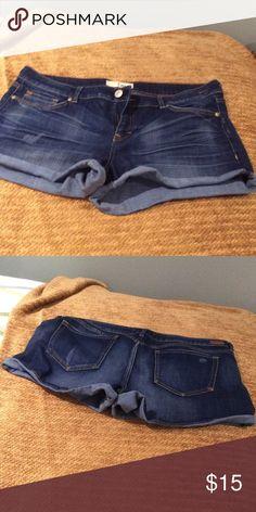 Jean shorts 5 pocket jean shorts, mid rise dittos Shorts Jean Shorts