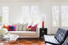 10 Bright Tips on Adding Color to Your Home on Style Me Pretty Living   Photo| Alyssa Rosenheck Design| Emily Lister