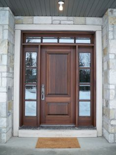 Ted Mcgrath spent over 25 years studying these problems and finding solutions. He put together a comprehensive collection of wood-working plans. Door Gate Design, Main Door Design, Wooden Door Design, Front Door Design, Front Door Entryway, Wood Front Doors, Entry Doors, House Doors, House Entrance