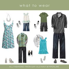 family photo outfits spring - Google Search