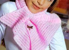 Aunque se comparte el patrón como infantil, cualquiera se puede hacer una, es una bufanda cómoda...