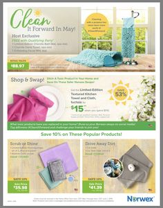 Host Rewards For May 2019 Ready To Stock Up On Norwex