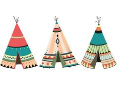 Teepee Print Teepee Art Native American Art Native American