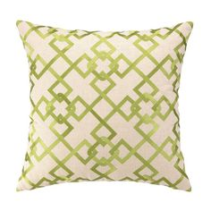 I pinned this Cecilia Pillow in Green from the Pattern & Pop event at Joss and Main!