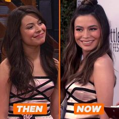 Nickelodeon Shows, Iconic Dresses, Miranda Cosgrove, Icarly, Then And Now, Shit Happens, Outfits, Instagram, Celebrities