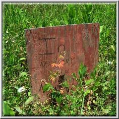 Image Detail for - ... plywood headstone substitute in Holt Cemetery. New Orleans, Louisiana