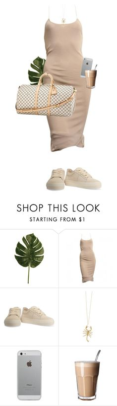 """My great hope is to laugh as much as I cry; to get my work done and try to love somebody and have the courage to accept the love in return."" by quiche ❤ liked on Polyvore featuring Alexander Wang, Louis Vuitton, Jennifer Fisher and Luvvitt"