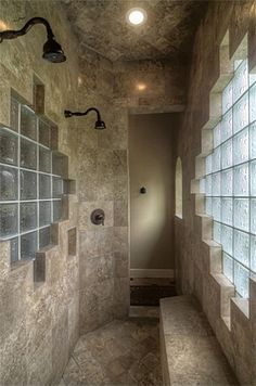 Love the walk around shower...could put it where bathtub is currently