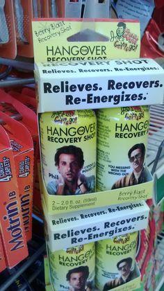 Hangover energy drinks