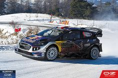At Sébastien Ogier and Julien Ingrassia won their first race of Congrats to M-Sport. We hope that this start brings you good luck! Rallye Wrc, Rally Car, Courses, Monte Carlo, Cars And Motorcycles, F1, Funny Things, Super Cars, Photos