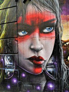 tétal - sock - street art - marseille