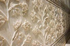 Taj Mahal interior detail