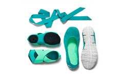 """This three-part pack from Nike (complete with elegant ribbon) is ideal for yoga, Pilates, Megaformer, or even the dance classes that inform its balletic aesthetic. """"This is great for the germaphobe who doesn't like to go barefoot,"""" says Jade. """"It's the next level up from toeless socks."""" Bonus: If you're newly tatted, consider wearing these as a way to protect your ink, Jade suggests."""